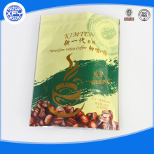 Stand up zipper plastic coffee bags