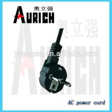 Norme européenne pvc isolés Home Appliances Ac Power Cord avec fil