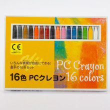 16colors oil pastel crayons