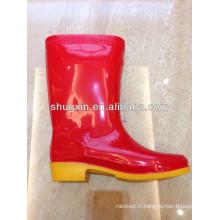 chaussure de mode Piou durable féminin forte pluie