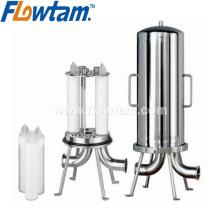 Carcaça de filtro de água de aço inoxidável de grau alimentar