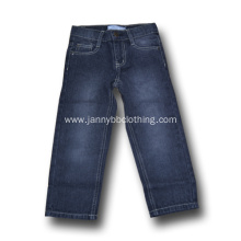 cotton dark blue boys jeans