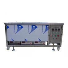 Máquina de limpieza ultrasónica semiautomática de tres ranuras