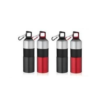 25 oz 750 ml Bouteille d'eau en acier inoxydable gratuite BPA, bouteille de sport écologique avec bouton d'escalade