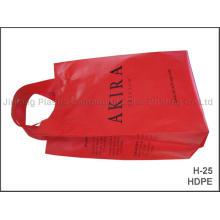 Пластиковая хозяйственная сумка с ручкой