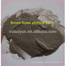 sand blasting abrasives brown fused alumina F#60 mesh
