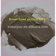 пескоструйная абразивы коричневый плавленого глинозема Ф#60 сетки