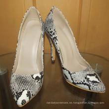 Zapatos de vestir de tacón alto de moda de estilo nuevo (HCY02-1689)