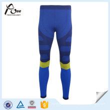 Calças longas de Johns do estiramento exterior colorido de nylon dos homens