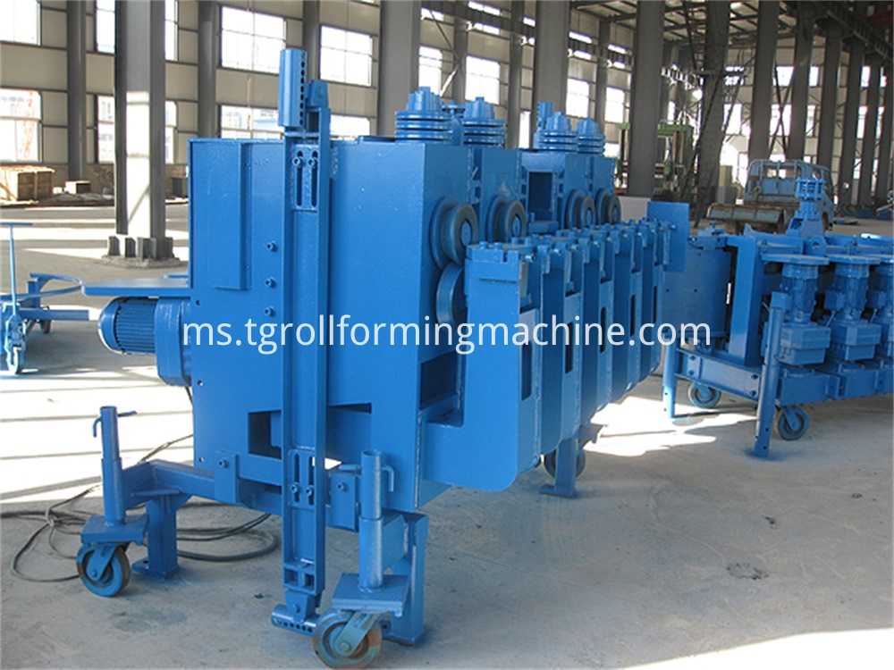 Helix Steel Silo Forming Machine