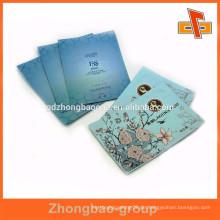Laminierte benutzerdefinierte bedruckte wiederverschließbare Aluminiumfolie Gesichtsmaske Tasche China