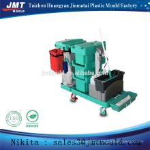 Китай пластиковые инъекций многоцелевой тележка уборщика прессформы