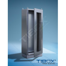Stainless Steel Cabinet with Glazed Door