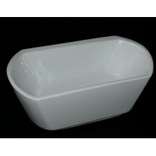 2015 New Design Square Shape Freestanding Bathtub