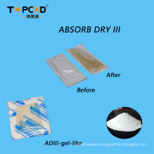 300% High Absorption Calcium Chloride Desiccant Super Dry Pouch (10g) for Garment