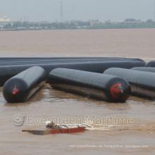 Flotación de la nave Rubber Marine Airbags para la actualización / Lanzamiento del barco Globos para embarcaciones hundidas Landing Lifting