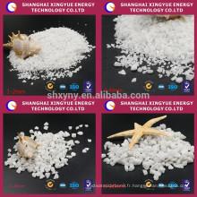 Corindon blanc d'Ai2o3 99% / alumine fondue pour abrasif et réfractaire