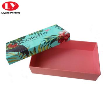 özel renkli kağıt hediye kutusu eşarp kutusu ambalaj