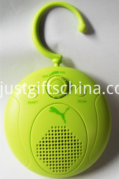 Promotional Waterproof Portable Radio W Pothook