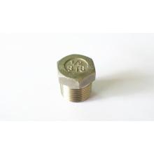 Encaixes de tubulação de aço inoxidável-Hexagon Plug