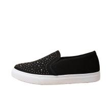 black diamond casual shoes fashion platform trendy shoes woman canvas shoes