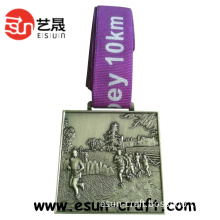 Round Gold Embossed Sport Medals and Trophys (M0043)