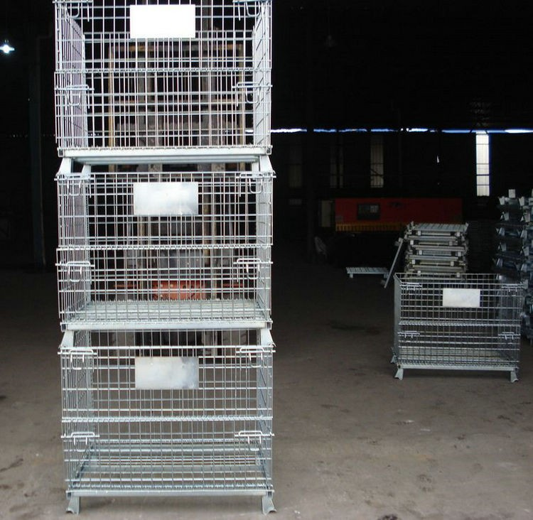 Welded Industrial Wire Containers
