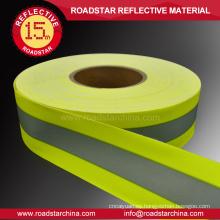 material reflectante ignífuga cinta de 100% algodón