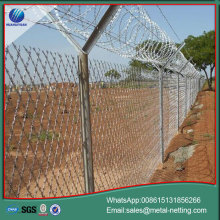 welded razor ribbon fence razor blade mesh