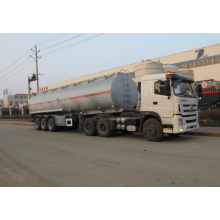 3 axle stainless steel Ammonium Hydroxide tank semi-trailer