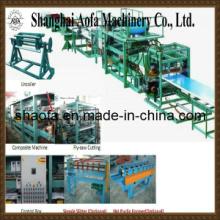 Línea de máquina de fabricación de paneles de sándwich de lana de roca (AF-R980)