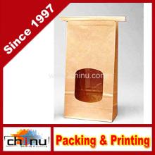 Laço da lata da janela de Kraft & sacos de café (220100)