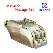 silla de masaje para piernas de todo el cuerpo / cama de masaje para shampoo de salón de belleza