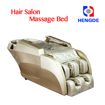 whole body leg massage chair / beauty salon shampoo massage bed