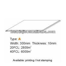 Потолок из ПВХ высокого качества 300мм * 10мм