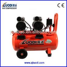 Compresor de aire portátil de tamaño pequeño sin compresor de aire sin aceite 50L