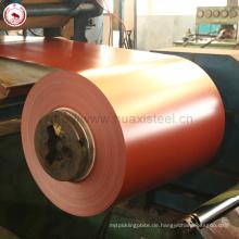 Zink-Metall-Fliesen verwendet nicht sekundäre PPGI-Spulen mit PVC-Beschichtung