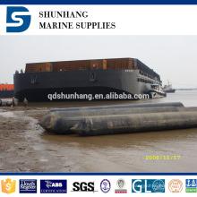 Dia2.5mx20m globo de goma inflable marino