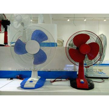Ventilateur de bureau de base carré de 15 pouces à 3 vitesses (USDF-608)