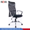 Nova brand modern office furniture swivel adjustable high back black mesh office chair