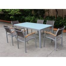 Garantie de 2 ans de garantie Meubles extérieurs pour patio à rayures (D560; S260)
