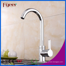 Fyeer Factory Price Cheap Ceramic Valve Brass Kitchen Sink Faucet