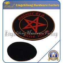 Material de PVC Customed Logo Patch