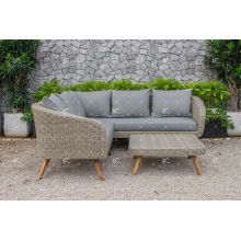 Latest Modish Luxurious Design Synthetic Resin Rattan Sofa Set For Outdoor Garden Patio or Living Room Wicker Furniture
