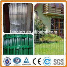 Anping factory High Quality Garden Galvanized Euro Fence