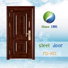 China El más nuevo desarrolla y diseña la sola puerta de seguridad de acero (FD-921)