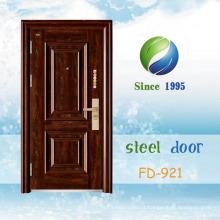 China mais recente desenvolver e projetar porta de segurança de aço único (FD-921)