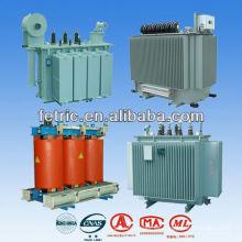 Transformador de energía inmerso en aceite al aire libre 12KV