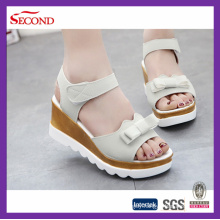 Faux Leather Lady Sandals Shoes