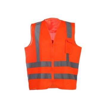 Colete de segurança reflexivo de vestuário de trabalho no atacado